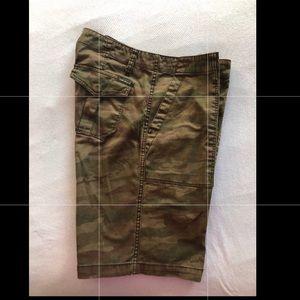 Sanctuary Shorts - Sanctuary Camouflage Bermuda Shorts